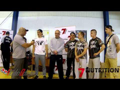 MMA we Wrocławiu i Patryk Grudniewski ze swoim TEAMEM | StudioOdżywek.pl |