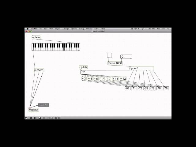 Max/Msp Tutorial (Subpatches) Barnsley College
