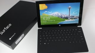 Microsoft Surface RT Unboxing