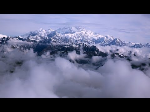 Flight Tour of Mount McKinley in Denali National Park, Alaska