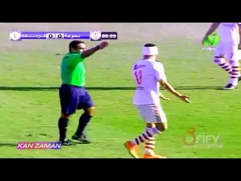 إنزل بقى يا احمد إطلع بقى يا احمد (سمير عثمان وأحمد عيد في مباراة سموحة)