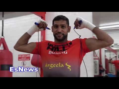 Amir Khan Reveals Something About His Boxing Career That No One Knew EsNews Boxing
