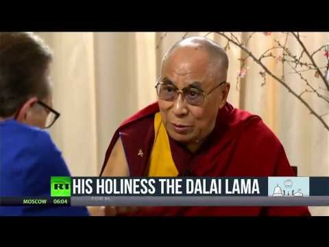 Politicking: The Dalai Lama - on world violence, capitalism, Pres. Obama