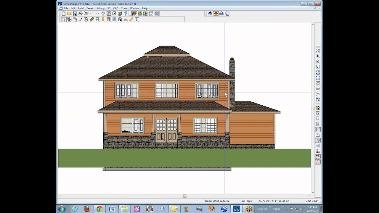 how to create scaled drawings using home designer pro any