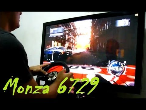Patch (+30fps) - Zerando NFS The Run com Volante Leadership Monza no Plasma 42