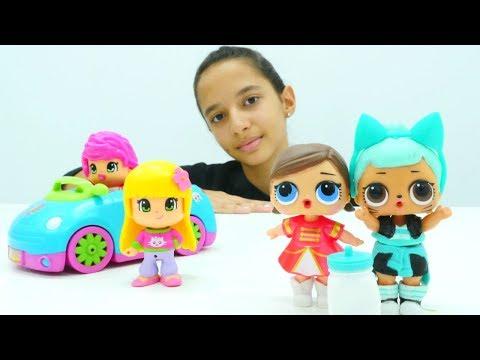 Pinypon oyuncak açılımı. Kız çocuklar için Unboxing video!