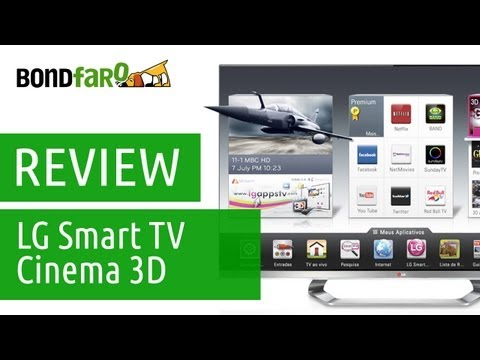 LG Smart TV Cinema 3D LM8600 - Review