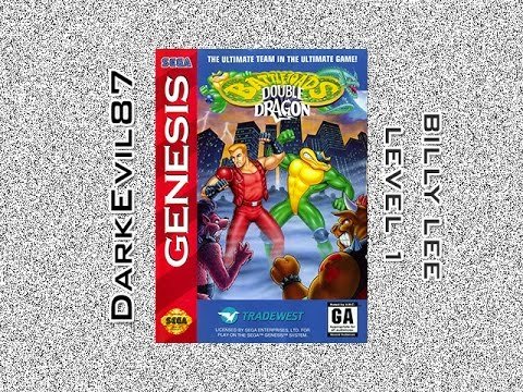 Misc Computer Games - Double Dragon - Mission 1