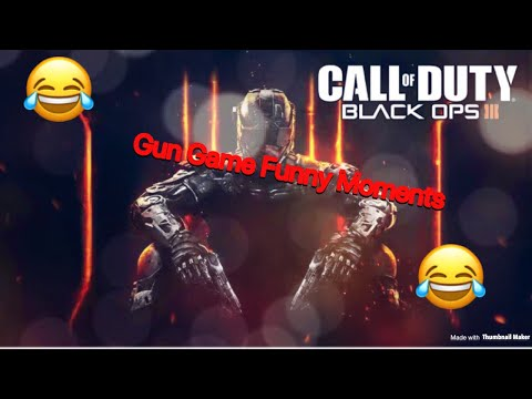 BEN Goes Crazy Playing Gun Game: BLACK OPS 3 Funny Moments