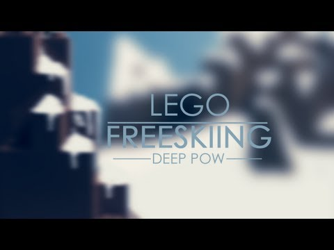 Lego Freeskiing: Deep Pow