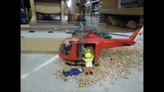 Stop motion - Playmobil - Construction site