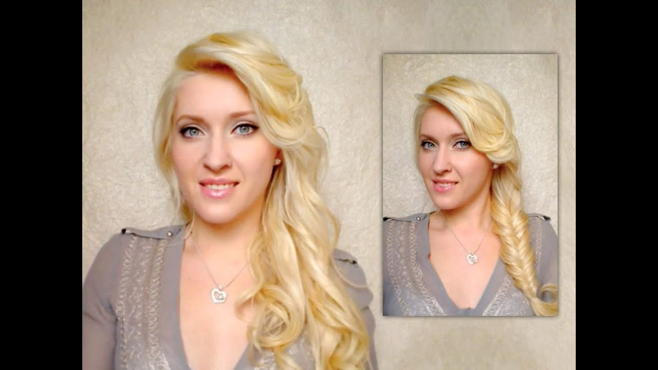 bed hair tutorial fishtail braid and easy everyday