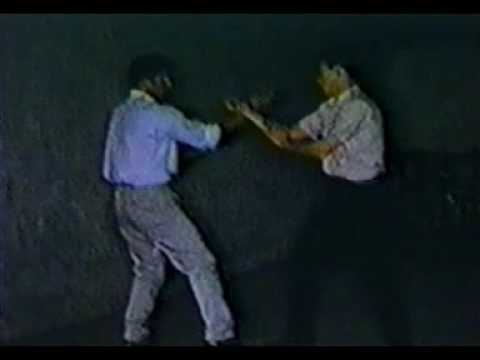 Si-Gung Taky Kimura & Si-Jo Bruce Lee do some trapping techniques Image 1