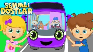 Otobüsün Tekerleği Yuvarlak ve Sevimli Dostlar ile Çocuk Şarkıları | Kids songs and nursery rhymes