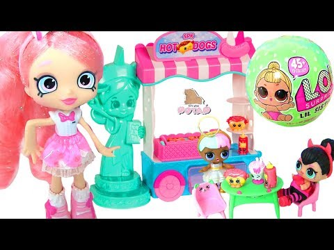 #Shopkins Season 8 Americas Blind Bags #LOL Surprise Little Baby Doll КУКЛЫ ЛОЛ В АМЕРИКЕ! #ad