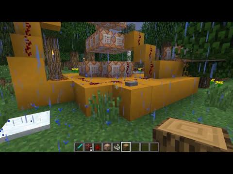 Minecraft 1.8: METEORITO SIN MODS (Truco de Minecraft)