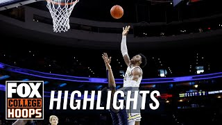 No. 16 Villanova keeps rolling with a 80-66 win over Georgetown | FOX COLLEGE HOOPS HIGHLIGHTS