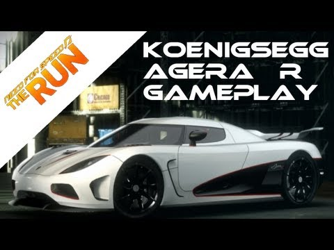 2012 Koenigsegg Agera on Need For Speed   The Run   Koenigsegg Agera R Gameplay   Ps3 Exclusive