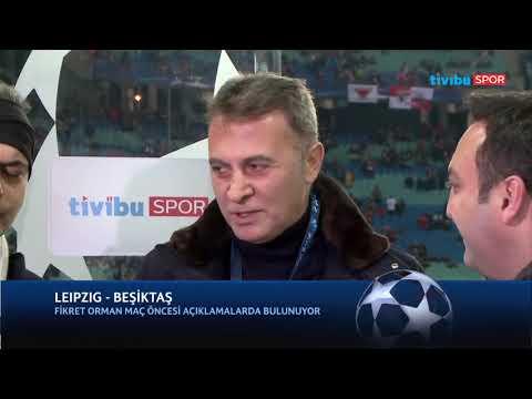 Leipzig - Beşiktaş maçı öncesi Fikret Orman, Tivibu Spor yayınına katıldı.