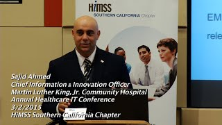 HIT Conference 2015 - Innovation in Healthcare Delivery Panel