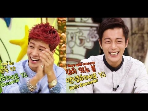 Hello Counselor - With Beast (2013.09.09) video