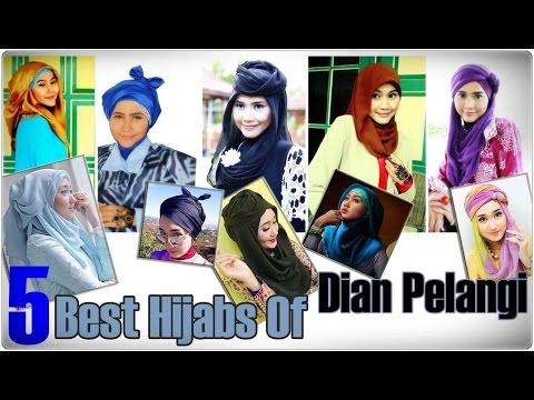 5 Best Hijab Styles of Dian Pelangi By Didowardah
