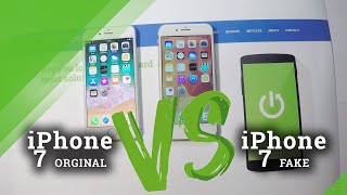 FAKE iPhone 7 vs iPhone 7 - Bugs and Differences in Clone of iPhone 7