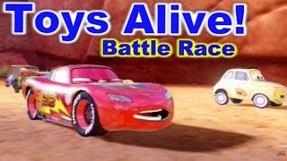 Cars 2: The video Game - Lightning McQueen - Timberline Sprint Battle Race