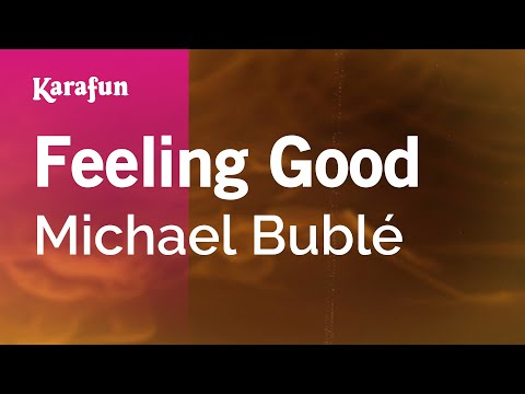 Karaoke Feeling Good - Michael Bublé *
