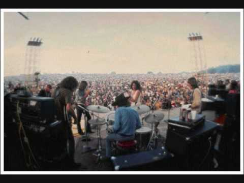 Jefferson Airplane - Eskimo Blue Day ( Live Woodstock Festival )