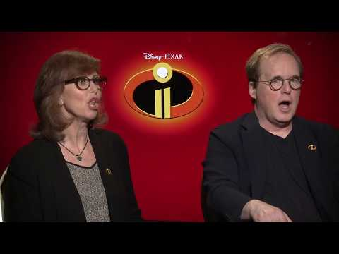 INCREDIBLES 2 Brad Bird & Nicole Grindle Interview