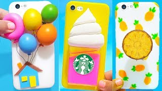 DIY STRESS RELIEVER PHONE CASES   Easy & Cute Phone Projects & iPhone Hacks
