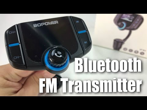 Bluetooth FM Transmitter for Music and Handsfree Calling by Bopower ABOX Review