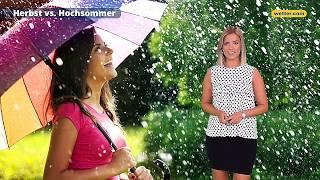 Wetter heute Die aktuelle Vorhersage 28.07.2019