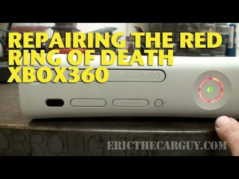 Repairing The Red Ring of Death XBox 360 - EricTheCarGuy