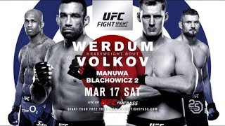 UFC Fight Night 127 Preview