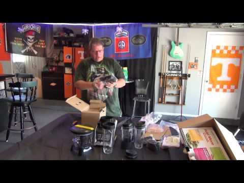 Nutri Ninja Blender Duo with Auto-iQ 1500 Watt - UNBOXING and TEST