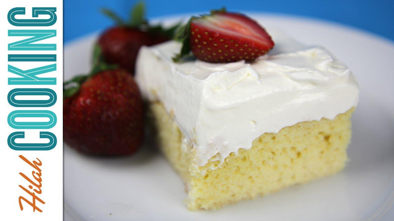 Tres Leches Cake Recipe Youtube