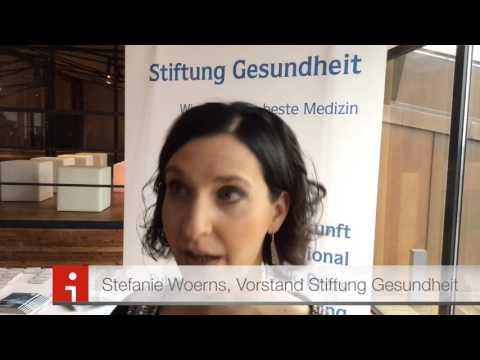 Stefanie Woerns, Stiftung Gesundheit