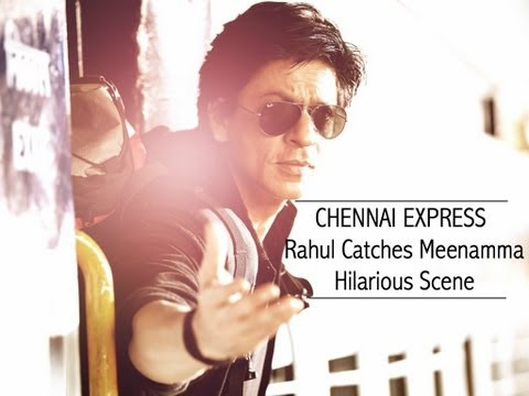 Chennai Express I SRK relives DDLJ with Deepika I Movie Scene...