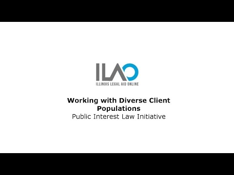 Working with Diverse Client Populations