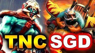 TNC vs SG DRAGONS - Undefeated! - Asia Pro League DOTA 2