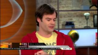 Bill Hader Hilarious CBS This Morning Interview