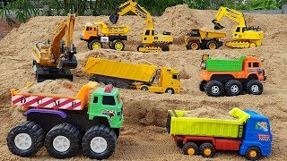 Construction Vehicles for Kids Build Blocks Toys for Animals Park for Children