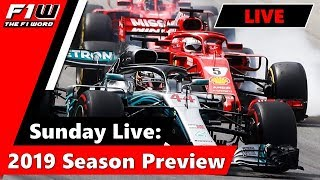 Sunday Live: 2019 Season Preview
