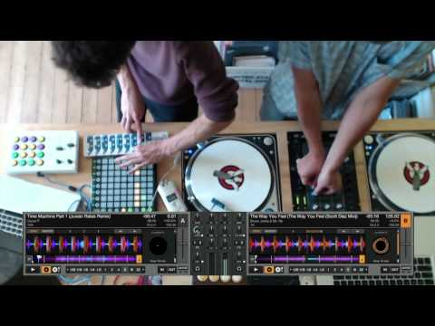 Ableton + Traktor DJ Performance Techniques Together