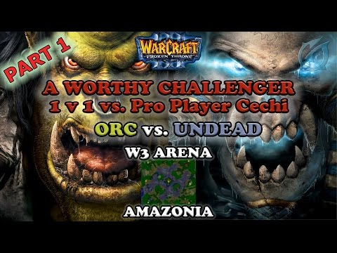 Grubby | Warcraft 3 The Frozen Throne | Orc vs. UD - A Worthy Challenger - 1v1. vs. Pro Player Cechi