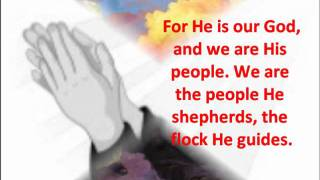 Psalm 95 (Responsorial Psalm) If Today You Hear His Voice, Harden not Your Hearts
