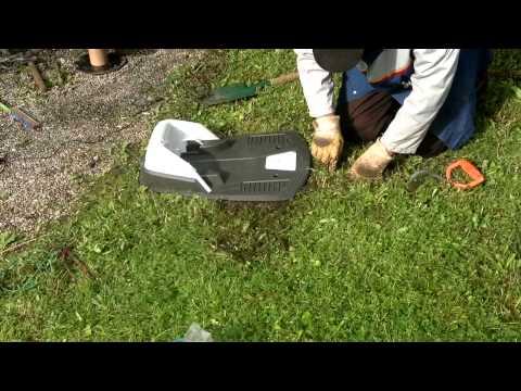 Inbetriebnahme Des Rasenmäher-Roboter Husqvarna Automower 305