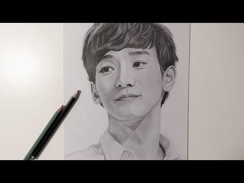 Exo Chen (Kim Jongdae) Speed Drawing 엑소 첸 (김종대)